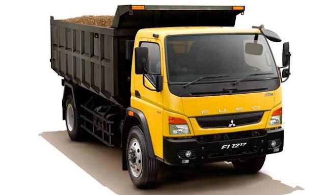 dump truk mitsubishi fuso standar canter