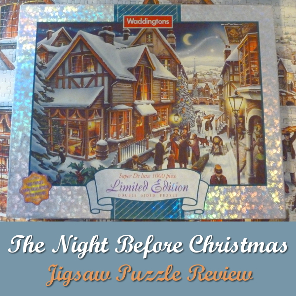 Waddingtons The Night Before Christmas Jigsaw Puzzle Review: Limited Edition 1997 Puzzles Jigsaws 12 Carols Twelve