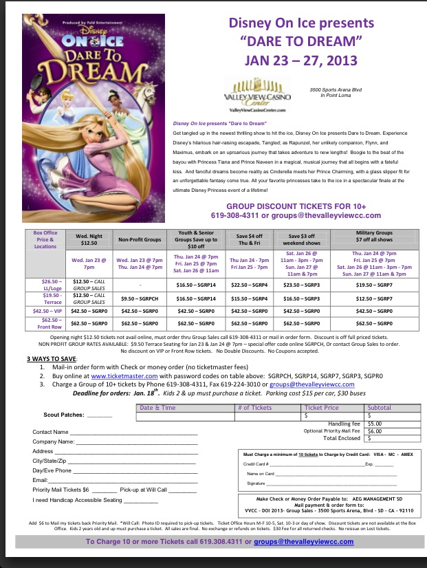 Arielle Atwood\/ Marketing Samples Creative Group Sales Order Form - event order form