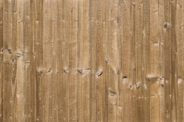 Wood fence texture light brown