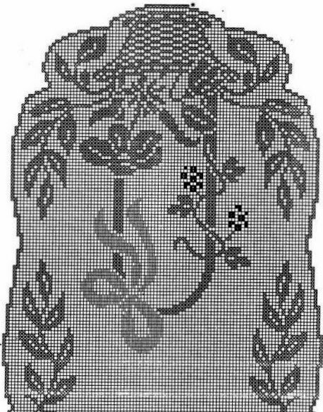 Kira Scheme Crochet The Large Oval Table Cloth With