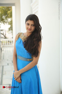 Telugu Actress Akshita (Pallavi Naidu) Latest Stills in Blue Long Dress at Inkenti Nuvve Cheppu Movie Promotions  0015.jpg
