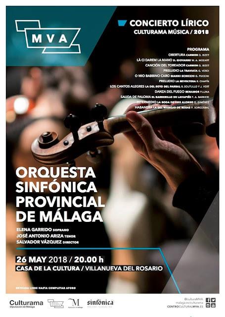 Concierto lírico en Villanueva del Rosario