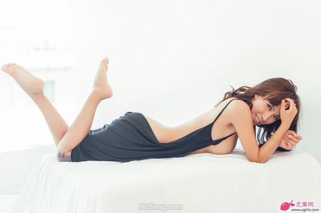 Image MrCong.com-UGIRLS-020-Tian-Yi-Yi-006 in post Người đẹp Tian Yi Yi (田依依) khoe ngực trần sexy trong bộ ảnh UGIRLS 020