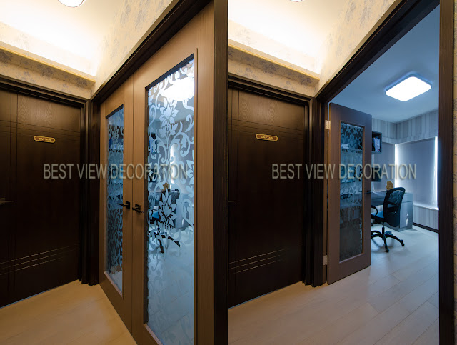 九龍站漾日居The Waterfront 書房 study room 室內設計