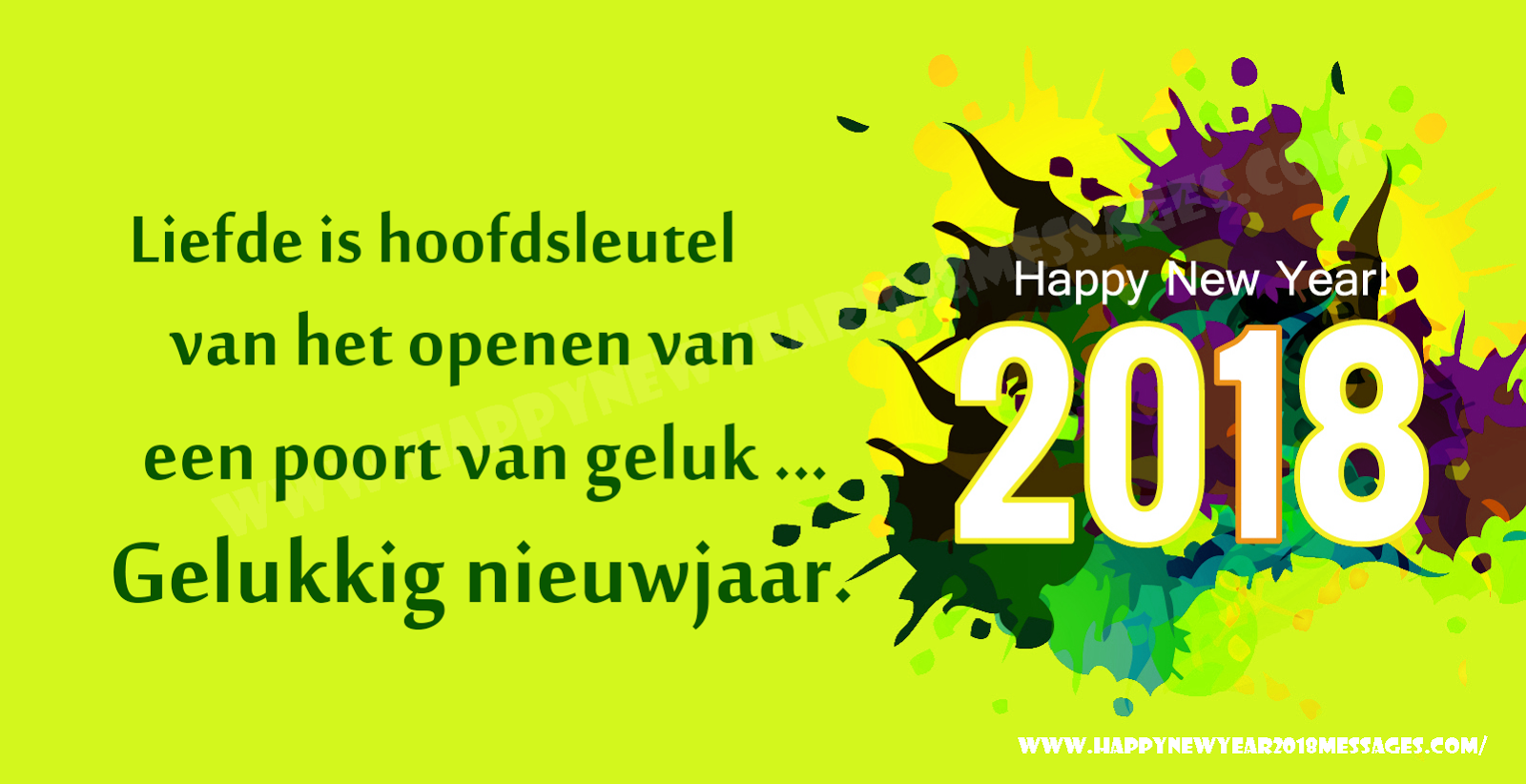 Quotes 2018 Advance Happy New Year 2018 Wishes Quotes Messages In Dutch