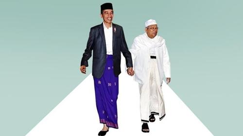 Balas PA 212, Mantan Pengacara Habib Rizieq Shihab: Jokowi Lebih Islami dari Mereka, Kiai Ma'ruf Ulama Besar