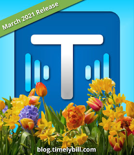 TimelyBill Spring 2021 Feature Release
