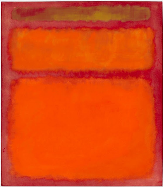 Mark Rothko, Orange, Red, Yellow
