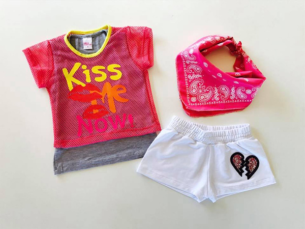 Moda infantil primavera verano 2018 ropa para niñas.