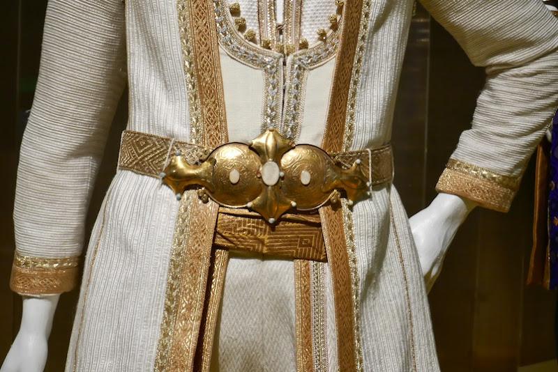 Aladdin Prince Ali costume belt detail