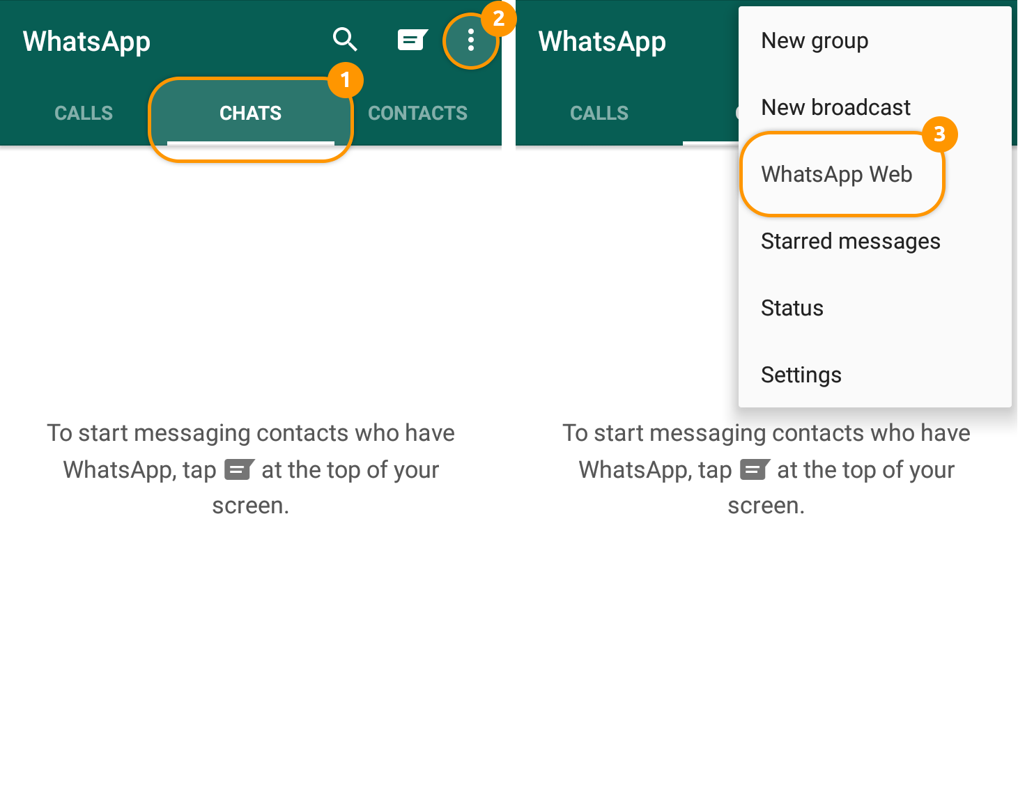 How To Use Messengers Whatsapp Online Version