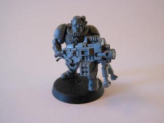 Shadow War: Armageddon gunner Azrael