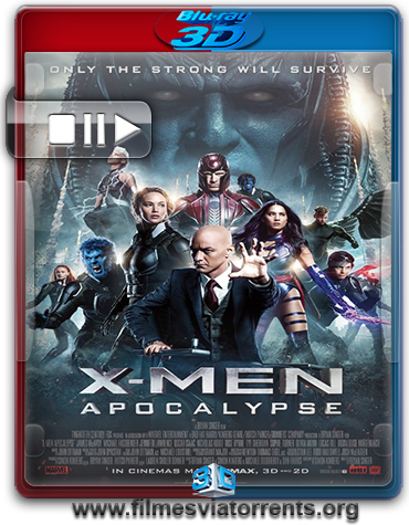 X-Men: Apocalipse Torrent – BluRay Rip 1080p 3D HSBS Dublado 5.1 (2016)