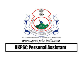 UKPSC Personal Assistant Admit Card 2020