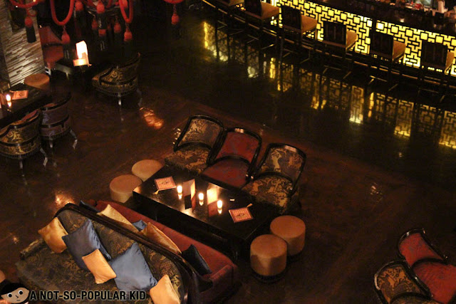 Interior of Buddha Bar, Makati