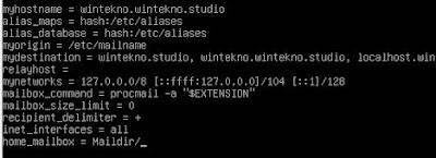 Konfigurasi Mailbox Main.cf Postfix