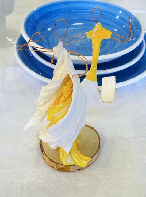 Idea Cake Topper, bomboniera per matrimonio , scultura di carta ballerini