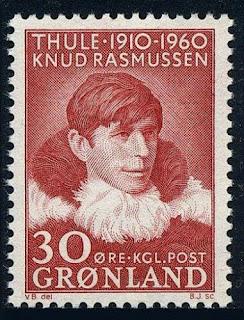 Greenland  Knud Rasmussen, polar explorer, 1960