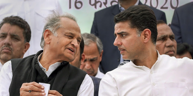 25 Congress MLAs including Sachin Pilot in touch with BJP, Rajasthan Government may fall down - Voice of Hinduism in English RSS Feed  IMAGES, GIF, ANIMATED GIF, WALLPAPER, STICKER FOR WHATSAPP & FACEBOOK