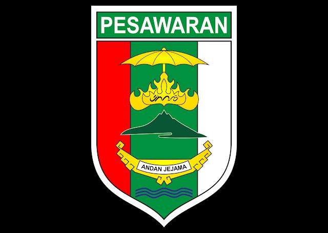 Logo Kabupaten Pesawaran Vector