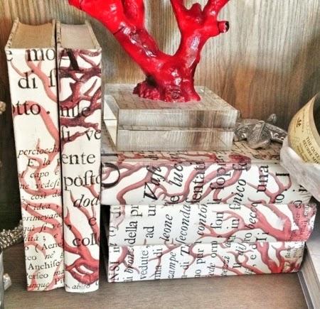 coral parchment books
