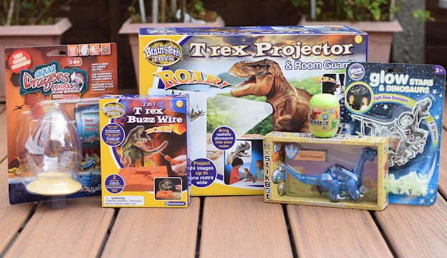 ROAR-some Dinosaur Toys to Celebrate the Release of Jurassic World: Fallen Kingdom
