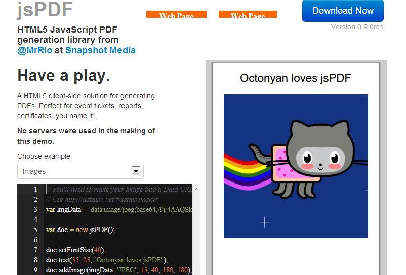 jQuery & JavaScript PDF Viewer plugin