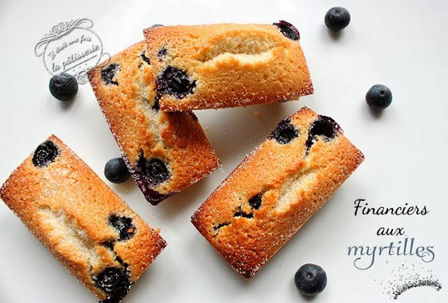 financiers myrtille
