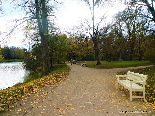 parque real lazienki en Varsovia, imprescindible