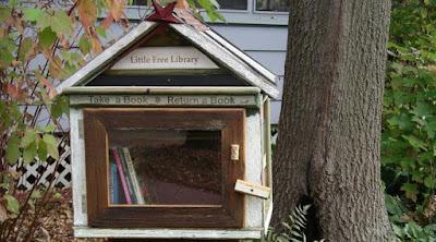 Perpustakaan kotak surat - Sekitar Dunia Unik