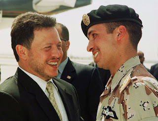 prince hamzah and king abdullah الأمير حمزة والملك عبدالله