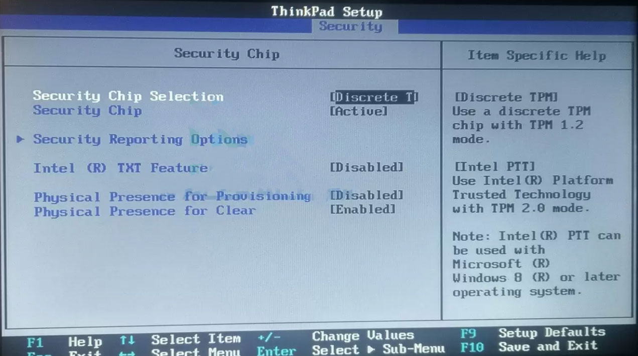Hướng dẫn cách bật TPM 2.0 trong BIOS của các dòng máy tính để cài Windows 11