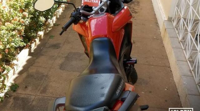 Polícia Militar age rápido e recupera moto furtada logo após o crime em Catolé do Rocha