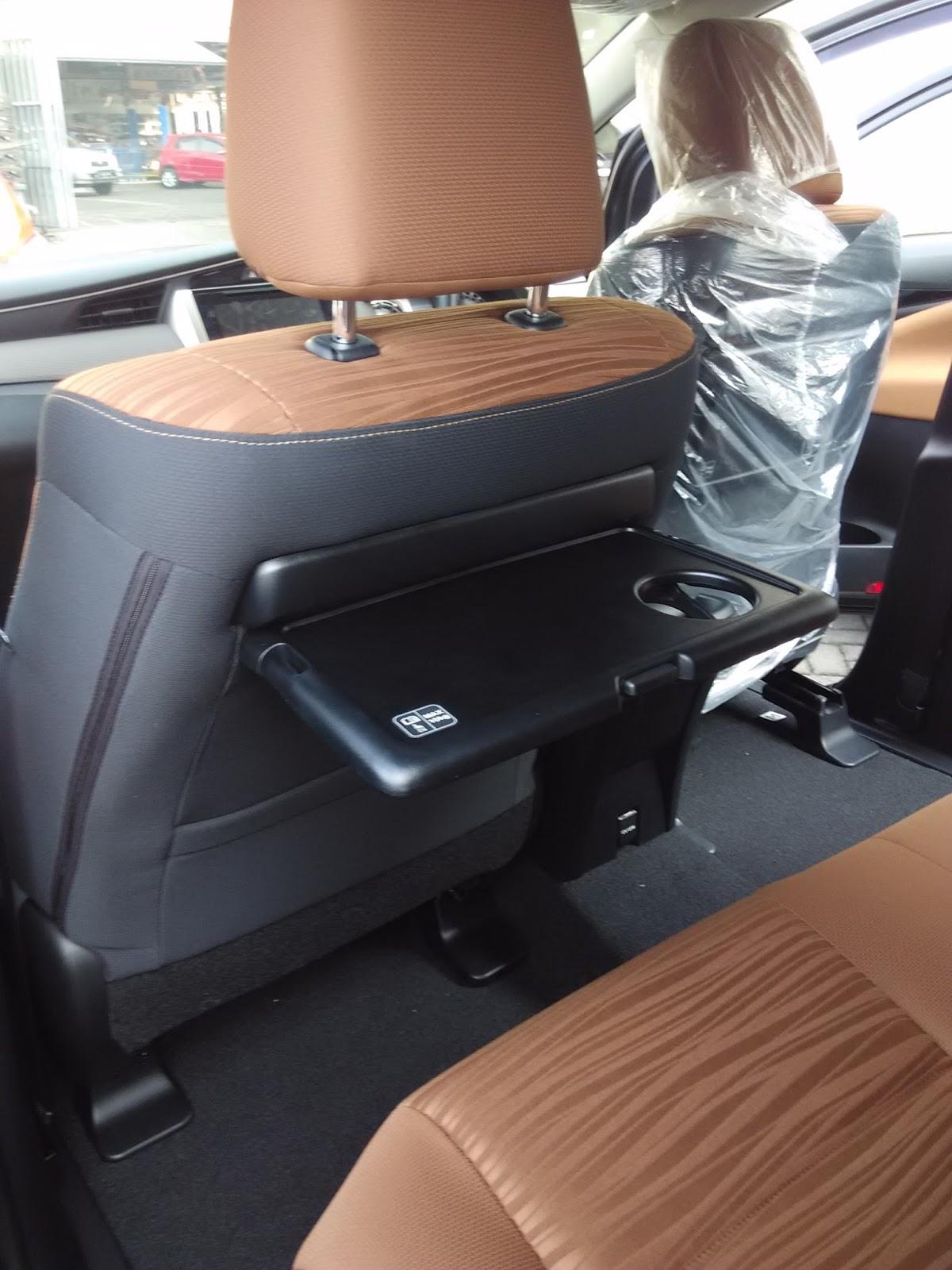 Meja Lipat All New Kijang Innova Cara Ganti Klakson Grand Avanza Melihat Interior Tipe V Dikta Toyota Informasi Yang Fungsional