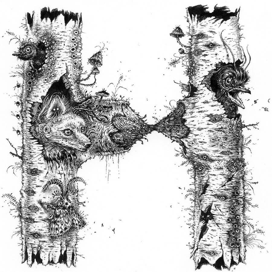 09-H-Fox-birds-and-moth-Monika-Mitkute-www-designstack-co