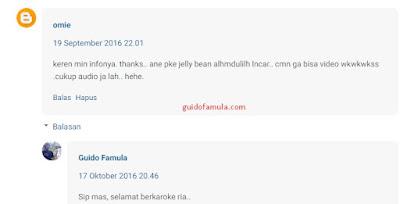 Contoh komentar blog yang baik untuk dipublikasikan