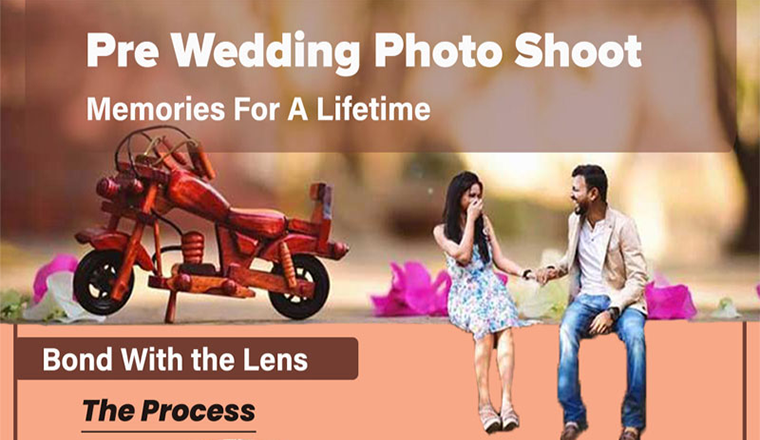 Pre-Wedding Photo Shoot – Memories for a Lifetime #infographic