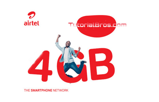 how to get Airtel 4GB For 1000, 2GB For 500, 1GB For 200 data offer