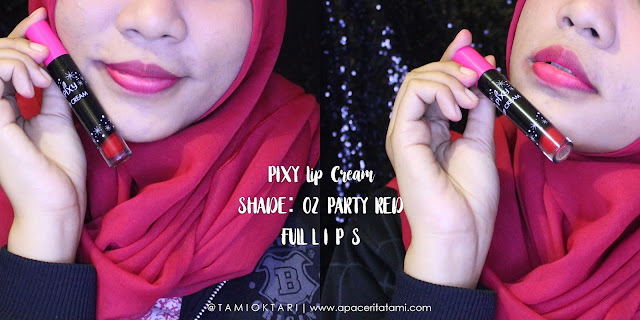Swatch PIXY Lip Cream Shade 02 Party Red