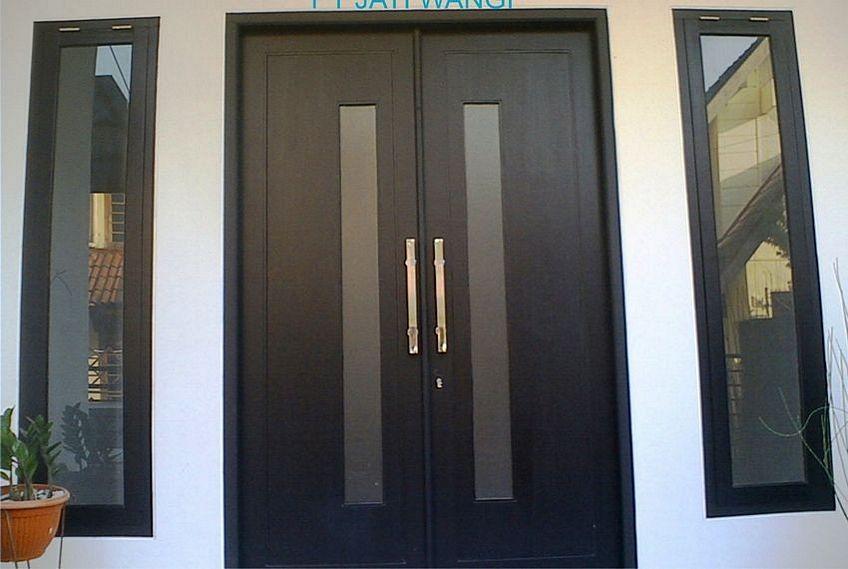 pintu double kayu 3