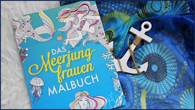 Das Meerjungfrauen Malbuch mvg Verlag Ausmalen Entspannung Zitate