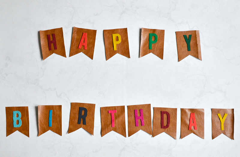 colorful birthday theme banner