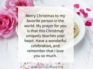Christmas Day Christmas Love Messages