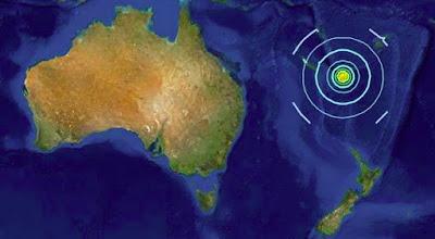 Gempa Bumi di Pasifik Selatan Disusul Sirine Tsunami