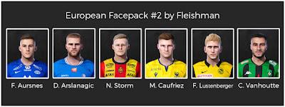 PES 2021 European Facepack 2 by Fleishman