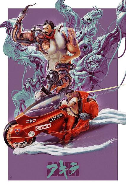 Akira Poster by Chris Skinner