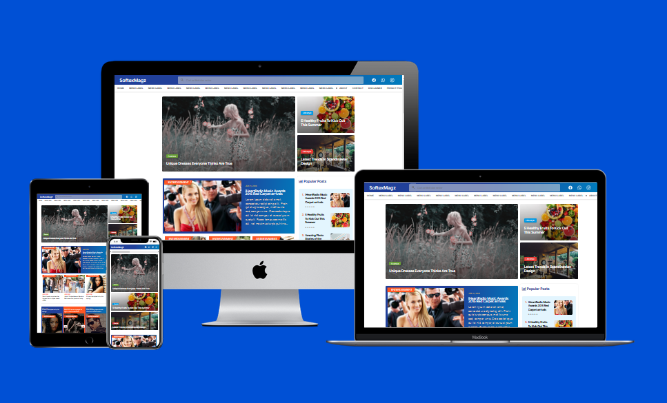 SoftexMagz Responsive Template
