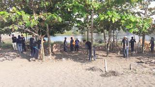 Peduli Kawasan Sehat, Jajaran UPP Pangandaran Bersih-Bersih Lingkungan Kerja