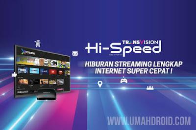 Harga Paket Internet Transvision Hi-Speed